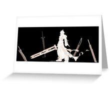 Cloud Strife - Final Fantasy Greeting Card