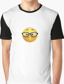 Nerd Emoji Graphic T-Shirt