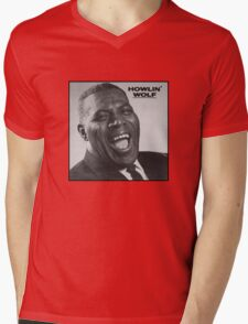 Howlin' Wolf Mens V-Neck T-Shirt