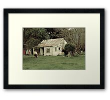 Old home for young ones Framed Print