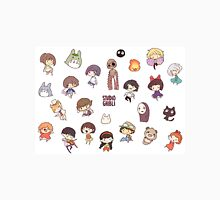Studio Ghibli - Chibi Characters Collaboration [HORIZONTAL] Unisex T-Shirt