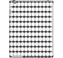cubic - monochrome iPad Case/Skin