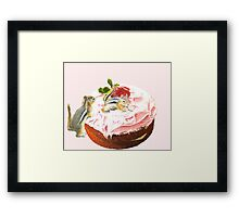 Furry Opportunists Framed Print