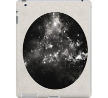 God's Window - Space In Black And White iPad Case/Skin