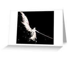 Sephiroth - Final Fantasy Greeting Card