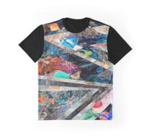 Triangle Forest Abstract Rainbow Futuristic Graphic T-Shirt