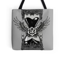 Neotraditional Vintage Hourglass Tote Bag