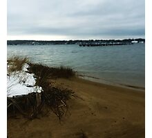 Snowy Sands Photographic Print