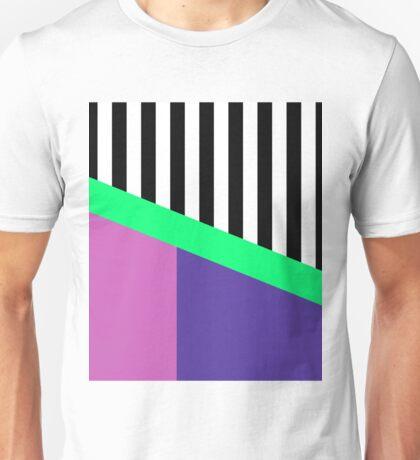 Blocks And Stripes Unisex T-Shirt