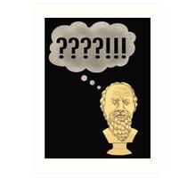 Socratic Method, Internet Style Art Print