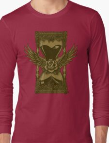 Neotraditional Vintage Hourglass Variant Long Sleeve T-Shirt