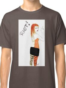 Riot Hayley Williams Drawing Classic T-Shirt