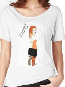 Riot Hayley Williams Drawing Women's Relaxed Fit T-Shirt
