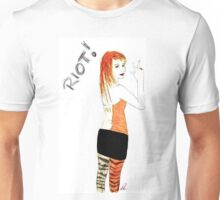 Riot Hayley Williams Drawing Unisex T-Shirt