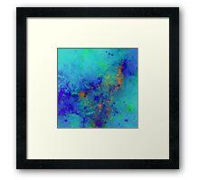 Blue Atmosphere Framed Print