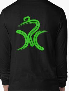 Green Bike by Peter Hunt Long Sleeve T-Shirt