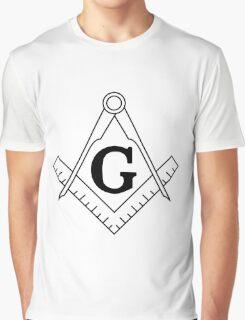 Freedom Mason  Graphic T-Shirt