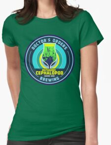 Mutagenic Cephalopod Womens Fitted T-Shirt