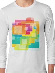 Colour Square Long Sleeve T-Shirt