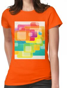 Colour Square Womens Fitted T-Shirt