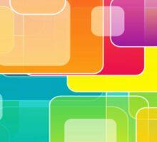 Colour Square Sticker