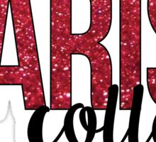 Marist College glitter Sticker
