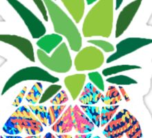 Lilly Print Pineapple Sticker