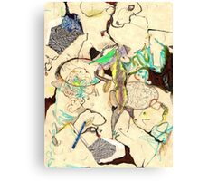 kitschen sink series: {3} (map-ly) Canvas Print