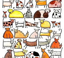 Dogs, dogs, dogs!!! by Julia Marshall