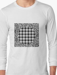 illusion optical 2 Long Sleeve T-Shirt