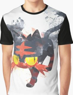 Litten Watercolor Graphic T-Shirt