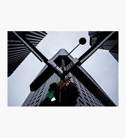 Vector Scale Downtown Denver Photographic Print