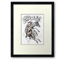 protect our wildlife  Framed Print