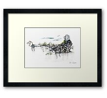 Castle Get Away Framed Print