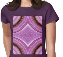 Orchid Vortices  Womens Fitted T-Shirt