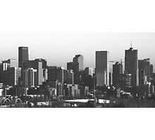 Denver Skyline Photographic Print