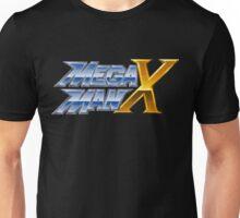 Megaman X logotype Unisex T-Shirt
