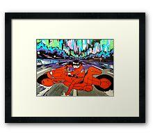 Kaneda Framed Print