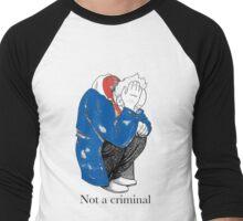 Mosher - Stop Criminalization of the Homeless (2) Men's Baseball ¾ T-Shirt