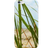 Lake Michigan Beach Grass iPhone Case/Skin