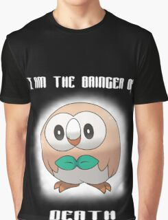 Bringer of Death Rowlet Graphic T-Shirt