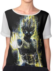 Epic Prince of Fighters Portrait Chiffon Top