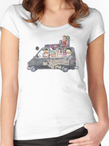 Runaway Five - Earthbound Women's Fitted Scoop T-Shirt