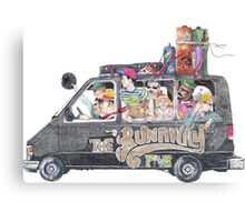 Runaway Five - Earthbound Canvas Print