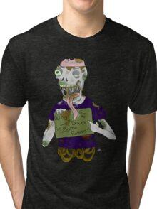 Sewer Zombie 3 Tri-blend T-Shirt