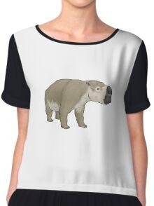 Diprotodon, the massive mega-wombat Chiffon Top