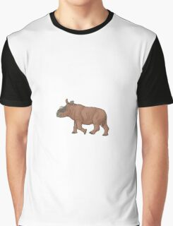 A baby Elasmotherium Graphic T-Shirt