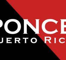 Ponce - Puerto Rico Sticker