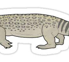 A venomous lizard from the Cretaceous, Estesia Sticker