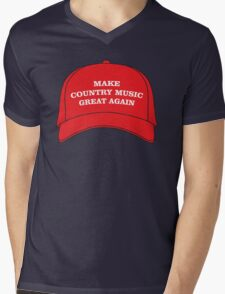 Make Country Music Great Again Mens V-Neck T-Shirt